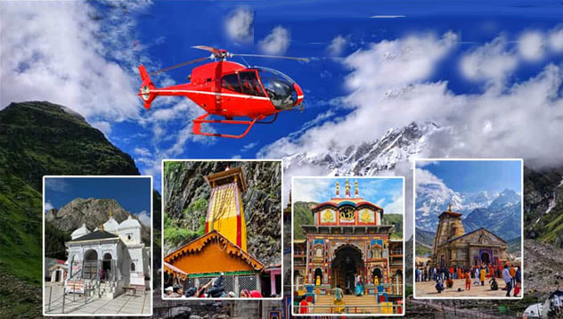 char dham by helicopter